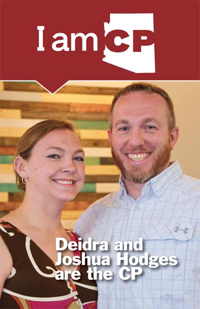 Deidra and Joshua Hodges CP