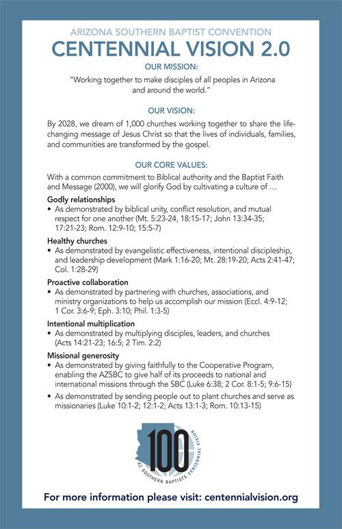 Centennial Vision 2.0 (English)